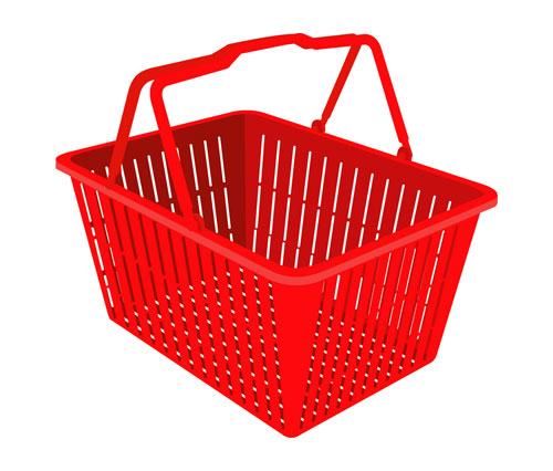 超市购物篮-01